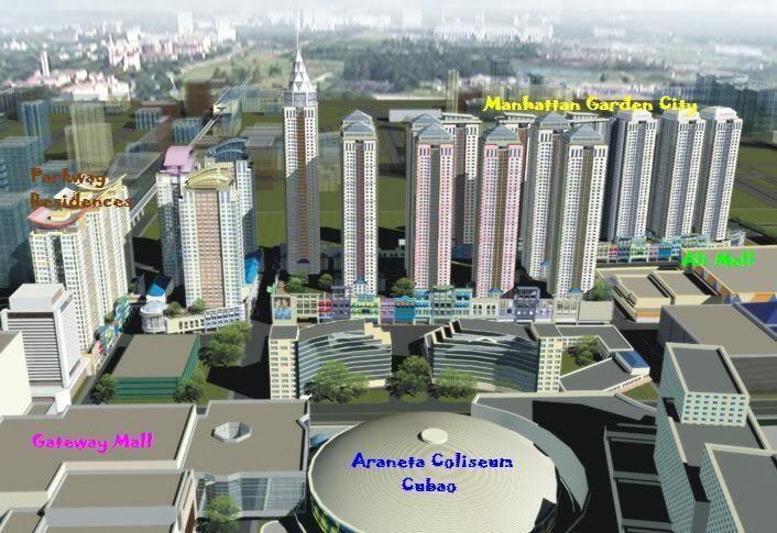 Condominium in Quezon City Manhattan Garden City