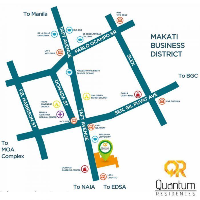 Condominium in Pasay Quantum Residences