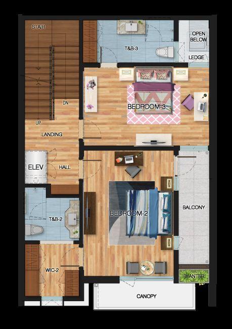Townhouse 4 Bedroom Townhouse in 8 Tomas Morato St. Quezon City, Metro Manila in Quezon City