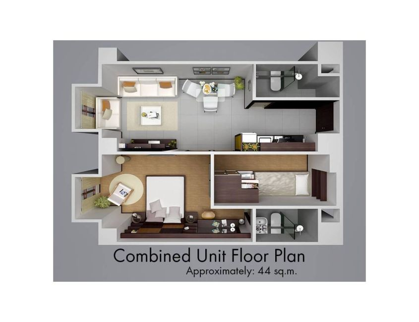 Condominium  1 Bedroom for sale at Victoria Sports Tower in Quezon City Metro Manila in Quezon City