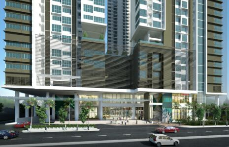 Condominium Studio Unit in The Paddington Place in Mandaluyong