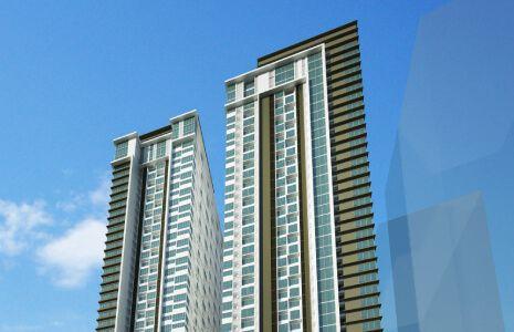 Condominium 1 Bedroom in The Paddington Place in Mandaluyong