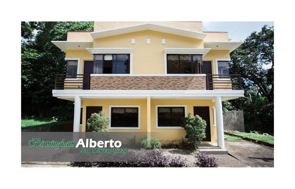 House and Lot Birmingham Alberto in San Mateo