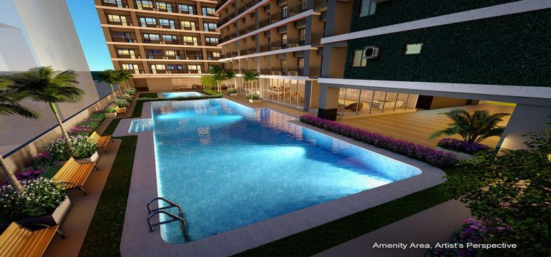 Condominium 1 Bedroom (37.34sqm) - Red Residences in Makati