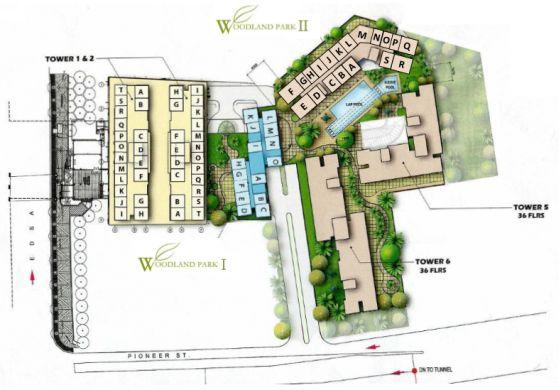 Condominium Pioneer Woodlands in Mandaluyong