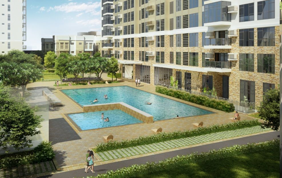Condominium Studio Unit in The Travertine at Portico in Pasig