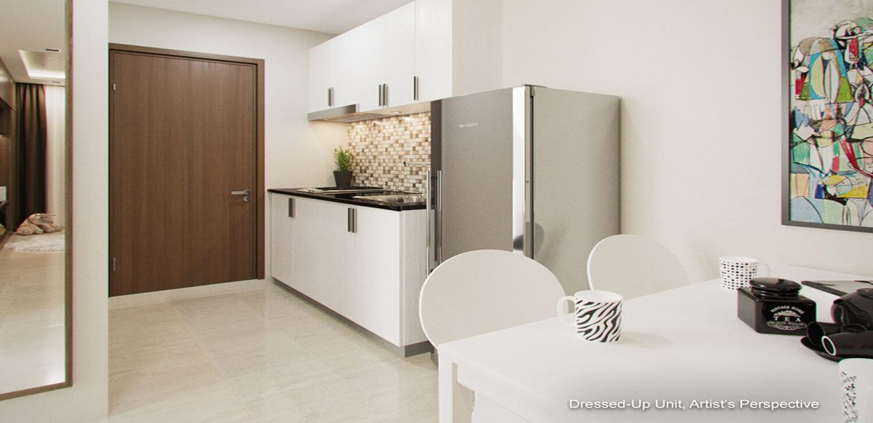 Condominium 1 Bedroom (26.04sqm) - Red Residences in Makati