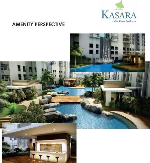 Condominium Studio Unit for sale in Ugong, Pasig - Kasara Urban Resort Residences in Pasig