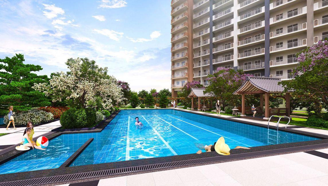 Condominium 2 Bedroom Unit at Kai Garden Residences in Mandaluyong