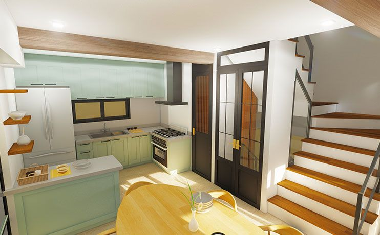Townhouse The Bedford in Mandaluyong