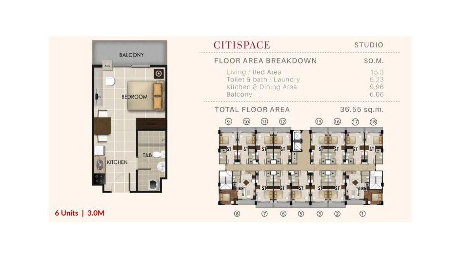 Condominium Studio - Valenza Mansions in Santa Rosa