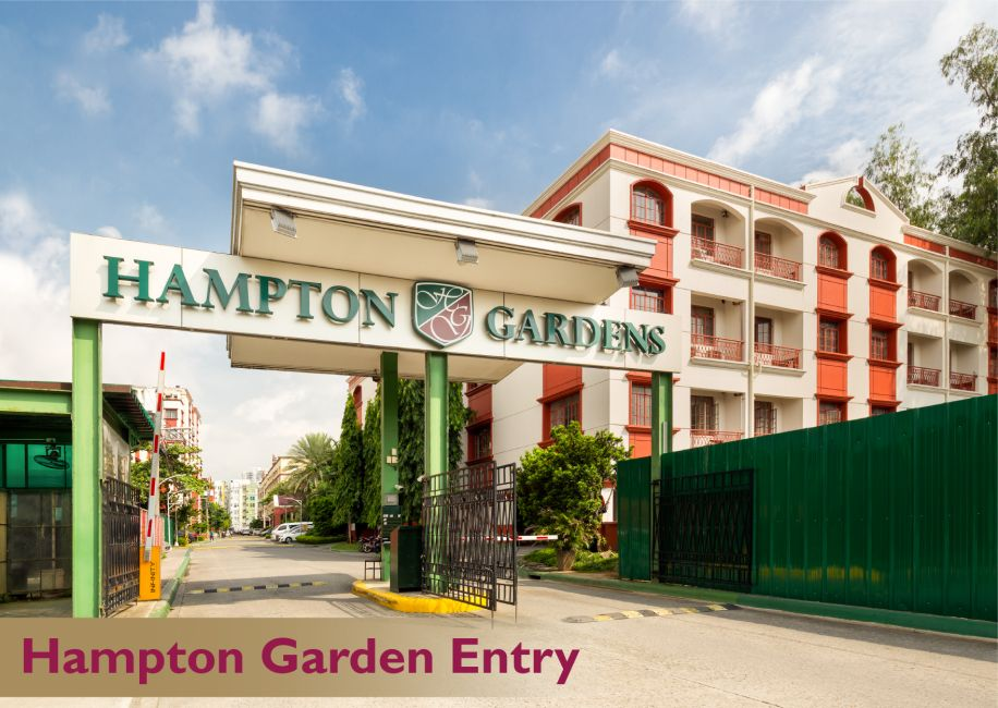 Condominium Hampton Gardens in Pasig