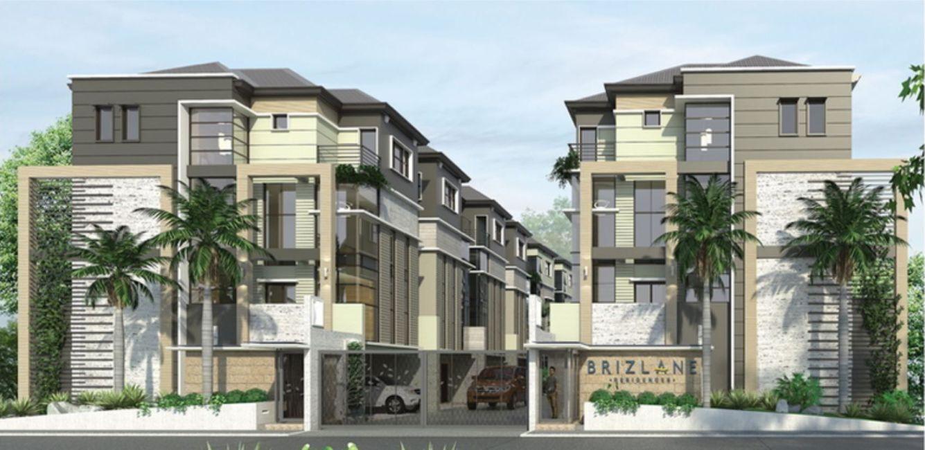 Townhouse Brizlane Residences in Quezon City