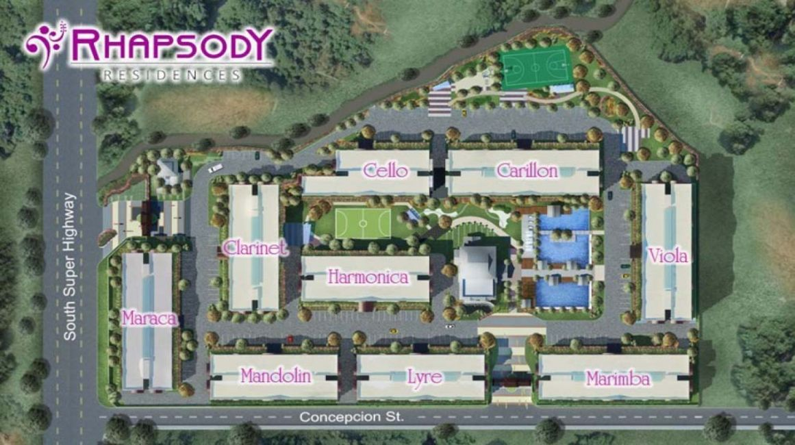 Condominium Rhapsody Residences in Muntinlupa
