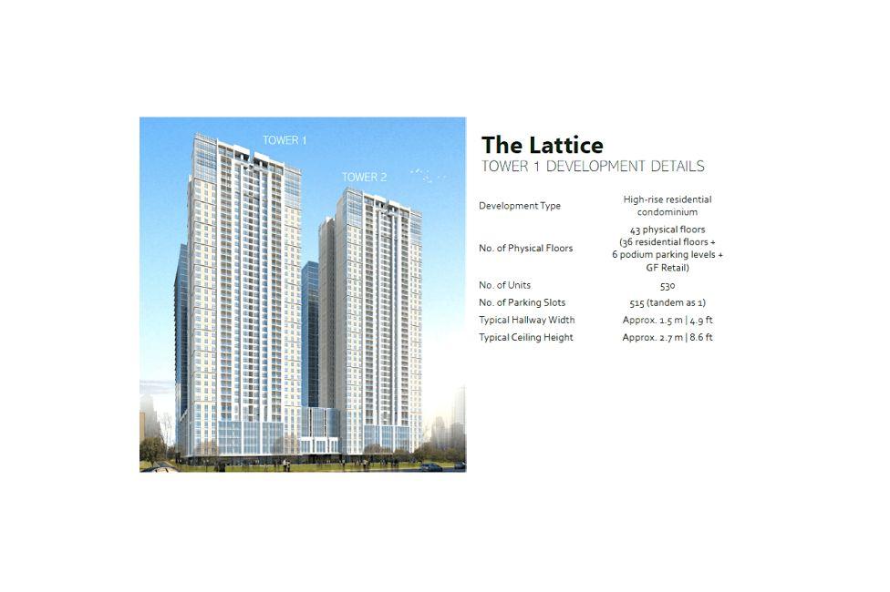 Condominium The Lattice at Parklinks in Pasig