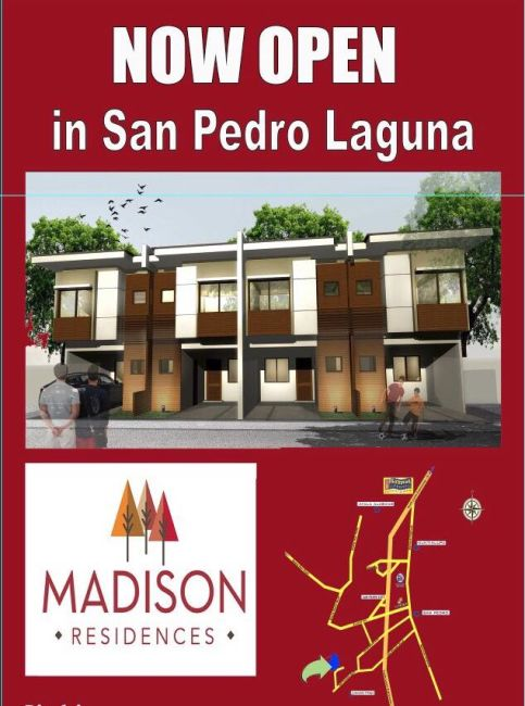 Townhouse Madison Residences in San Pedro