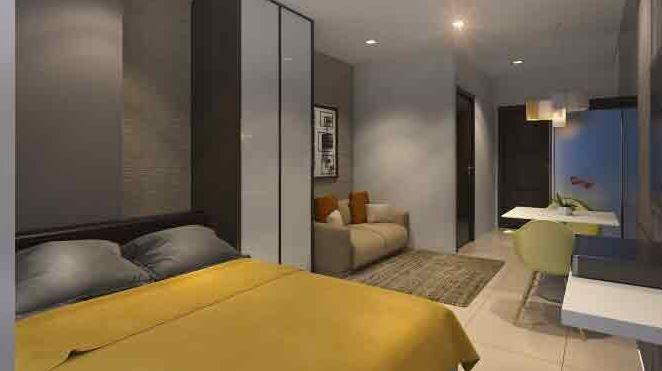 Condominium 2 Bedroom - Axis Residences in Mandaluyong