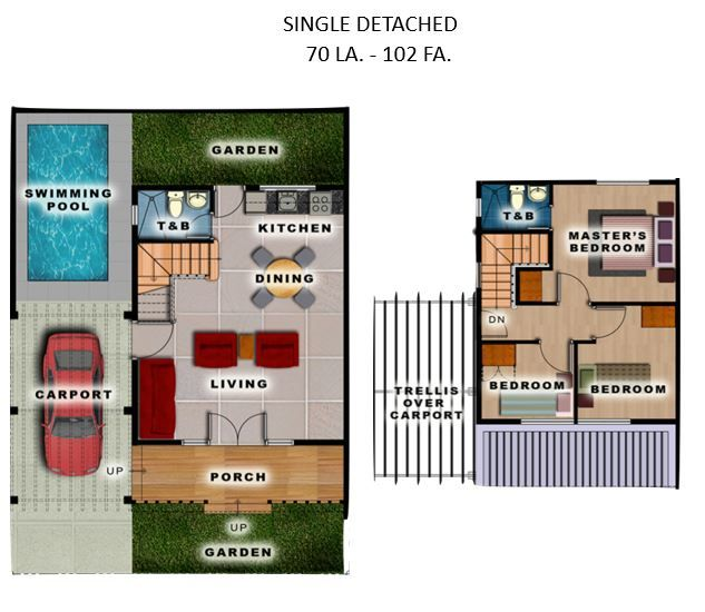 House and Lot House and Lot for Sale at Theresa Heights Metro Manila Hills, Rodriguez, Rizal in Rodriguez