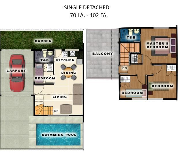 House and Lot House and Lot for Sale at Residencias De Francesca in Metro Manila Hills, Rizal in Rodriguez
