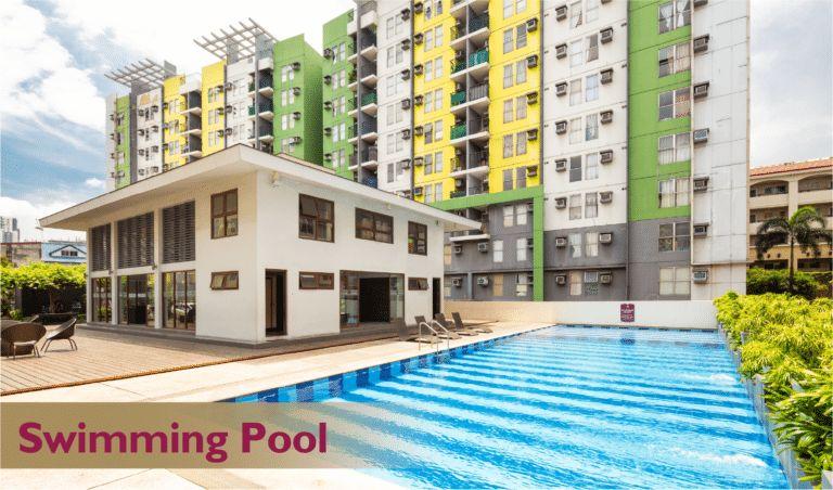 Condominium 1 Bedroom Deluxe Unit at Hampton Gardens in Pasig, Metro Manila in Pasig