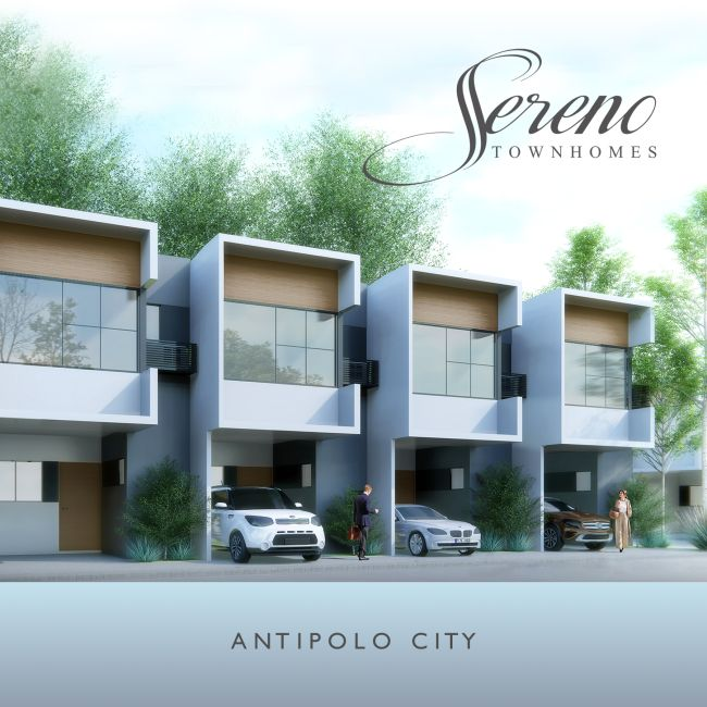 Townhouse Sereno Townhomes in Antipolo
